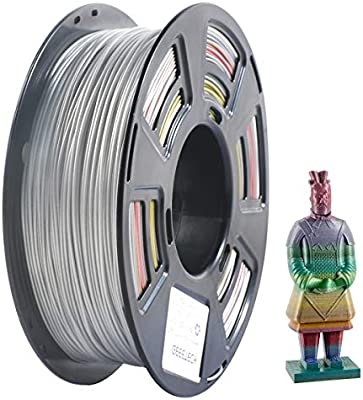 Filamento PLA 1.75 mm, Geeetch impresora 3D multicolor 1.75 mm ...