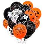 Halloween Balloons - Halloween Pumpkin Horror Bat Latex Balloon Halloween Bar Ghost Festival Party Decoration Suplies