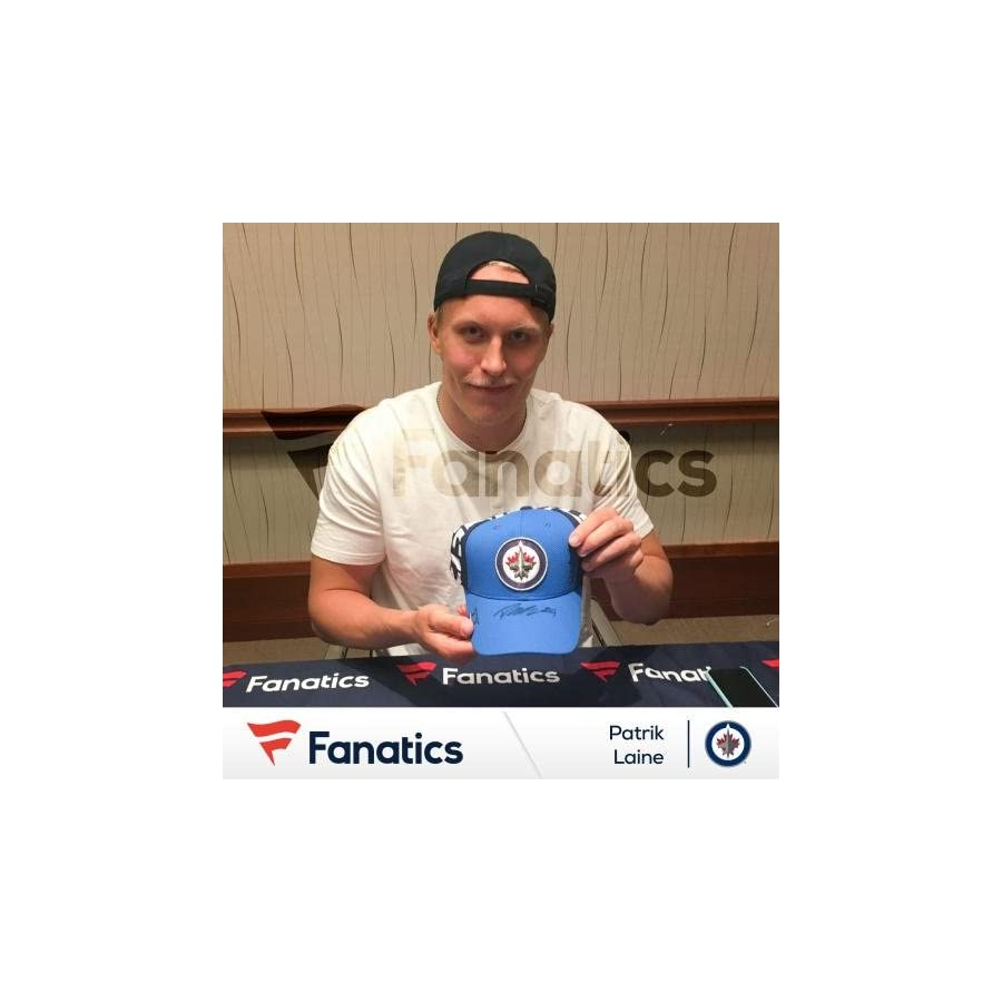 Patrik Laine Winnipeg Jets Autographed 2016 NHL Draft Cap Fanatics Authentic Certified Autographed NHL Hats