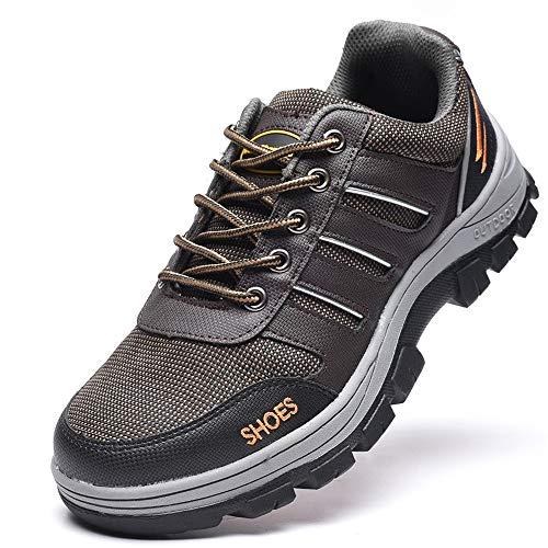 Fuxitoggo Seguridad Tamaño Hombres Marrón Antiestáticos Seguro Calzado De Para color 39 Eu Laboral Zapatos Piercing Punture Marrón rHpErqW