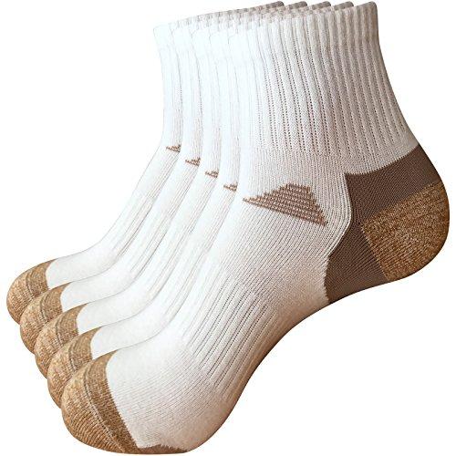 (Thsbird Women's Comfort Blend Ankle Socks Casual Athletic Running Sock Pack of 5 Color)