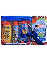 Paw Patrol Bath Gift Set 3 In 1 Body Wash, Shampoo, Conditioner, Bath Foam, Bubble Bath & Paw Patrol Hooded BOBEBE Online Baby Store From New York to Miami and Los Angeles