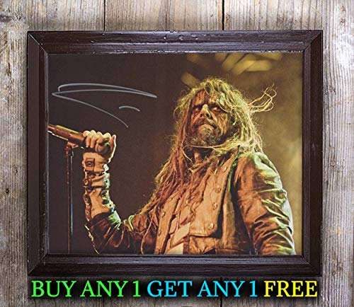 Rob Zombie Halloween Autographed Signed Reprint 8X10 Photo #55 Special Unique Gifts Ideas for Him Her Best Friends Birthday Christmas Xmas Valentines Anniversary Fathers Mothers -