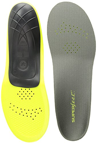 Superfeet Carbon Insole-Green-Size D (7.5-9)