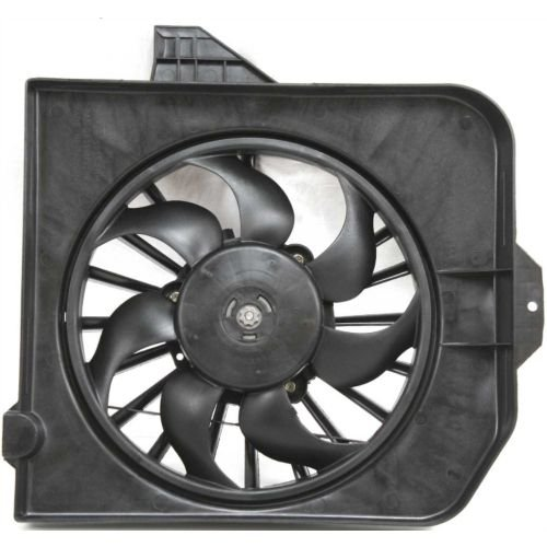 Make Auto Parts Manufacturing - CARAVAN 01-05 RADIATOR FAN SHROUD ASSEMBLY, Right, To 1-31-05 - CH3113102
