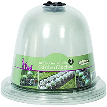 Tierra Garden 50 1110 Haxnicks Victorian Bell Plant Protector, Baby, 3 Pack