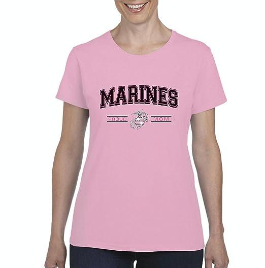 537cbba2a2c9 Us Marine Mom Tshirt Proud Usmc Mom Us Marines t