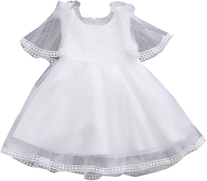 Mitlfuny Verano Niñas Bebé Vestidos sin Manga Tutú Princesa Faldas ...