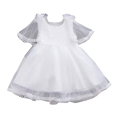 Mitlfuny Verano Niñas Bebé Vestidos sin Manga Tutú Princesa ...