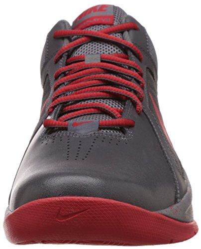 Nike Mens Il Overplay Viii Nbk Grigio Scuro / Freddo Grigio / Rosso Università