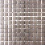 Susan Jablon Mosaics - 1 Inch Square Stainless Steel Tile