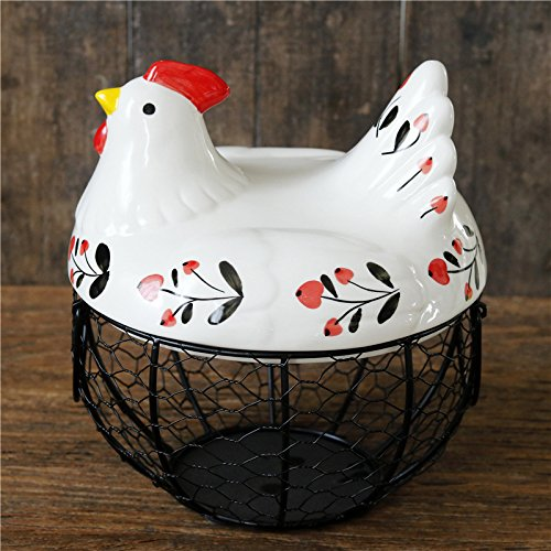 Metal Mesh Wire Chicken Egg Holder