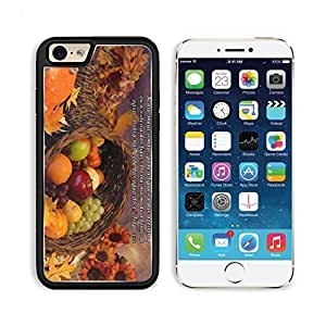 Santiago James Thanksgiving Cornucopia Biblia Apple iPhone 6 TPU Snap Cover Premium Aluminium Design Back Plate Case Customized Made to Order Support Ready Liil iPhone_6 Professional Case Touch Accessories Graphic Covers Designed Model Sleeve HD Template Wallpaper Photo Jacket Wifi Luxury Protector Wireless Cellphone Cell Phone