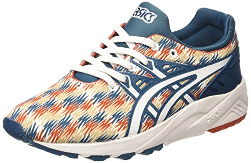 Bleu 4501 Asics Gel Baskets Blue Trainer Legion Mixte Adulte Basses White Kayano Evo n8nUFq