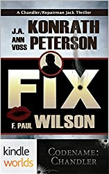 Fix (Codename: Chandler) (Kindle Worlds Novella)