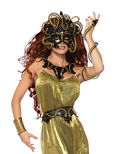 Forum Novelties Party Supplies 78918 Medusa Snake Arm Wrap Women Costume Accessory, One Size Fits Most -