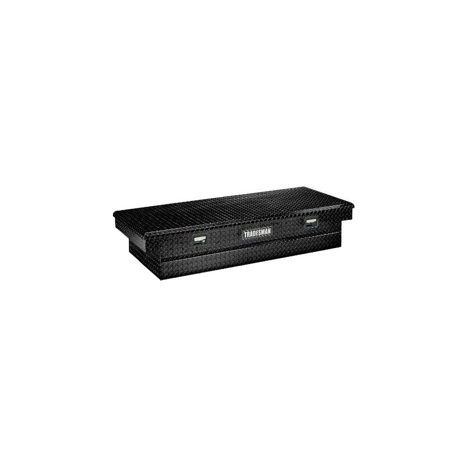 Tradesman 72 Full Size Aluminum Cross Bed Tool Box TALF2072BK Black