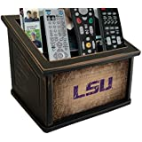 Fan Creations C0765-LSU Lsu Woodgrain Media Organizer, Multicolored