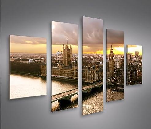 Bild Bilder Auf Leinwand London Mf Xxl Poster Leinwandbild