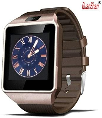 Amazon.com: GuanShan Bluetooth Smart Watch DZ09 Relojes Smartwatch Relogios TF SIM Camera for IOS iPhone Samsung Huawei Xiaomi Android Phone (Gold): Cell ...