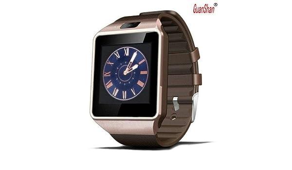 Amazon.com: GuanShan Bluetooth Smart Watch DZ09 Relojes ...