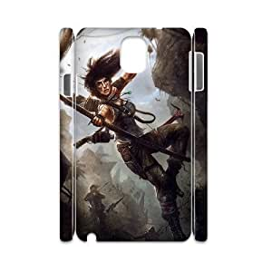 QSWHXN Tomb Raider Phone 3D Case For Samsung Galaxy note 3 N9000 [Pattern-5]