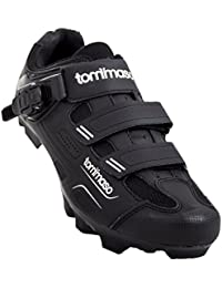 8fbafb0bf Montagna 200 Men s Mountain Bike MTB Spin Cycling Shoe with Buckle  Compatible with SPD Cleats Black