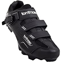 Tommaso Montagna 200 Mens Mountain Bike MTB Spin Cycling Shoe with Buckle Compatible with SPD Cleats