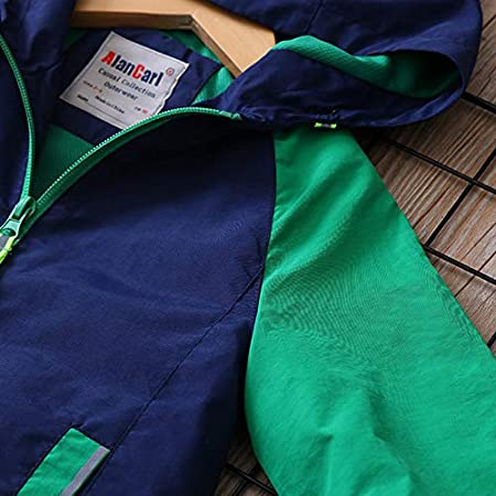 Zip Up Windproof Boys Hooded Hoodie Jackets Long Sleeve Sweatshirt Coat Jacket 2-14 Years