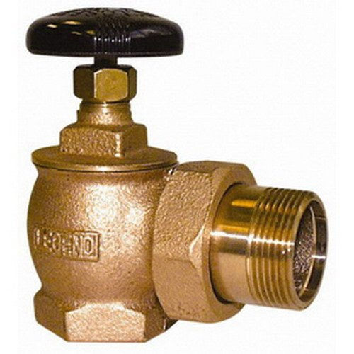 Legend Valve & Fitting T-431 Bronze Steam Angle Radiator Valve, 1