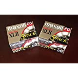 Maxell XLII 60 - Cassette - 1 x 60min - High BIAS (pack of 10 )