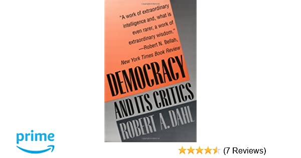 Dahl Democracy And Its Critics Pdf