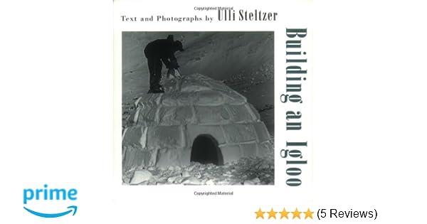 Building an Igloo: Ulli Steltzer: 9780805063134: Amazon com