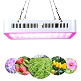 LED Grow Light 600W Full Spectrum Indoor Grow Lights For Medicinal Plants Veg & Flower in Greenhouse Tent Plant(Actual Power Consumption 100W)