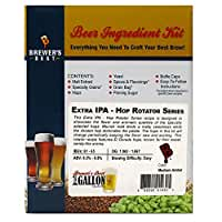 Brewer's Best One Gallon Home Brew Beer Ingredient Kit (Extra IPA - Hop Rotator Series)