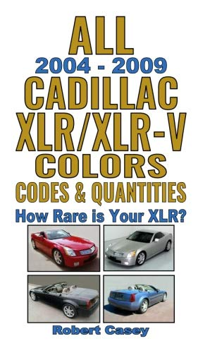 (All 2004-2009 Cadillac XLR & XLR-V Colors, Codes & Quantities: How Rare is Your XLR?)