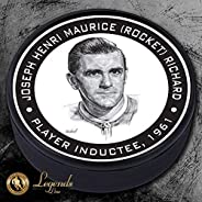 1961 Maurice Rocket Richard - NHL Legends Textured Puck