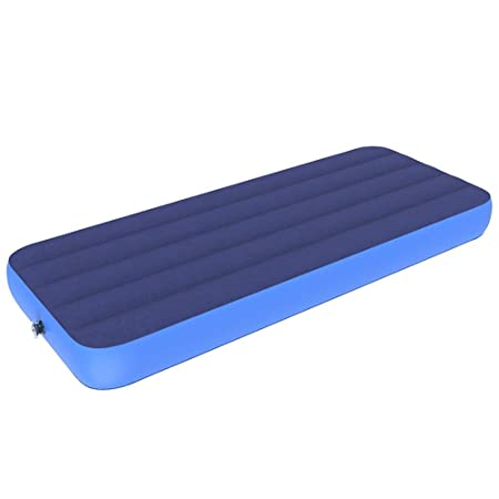 Inflar el cojín de camping con Colchón hinchable Comfort Air ...