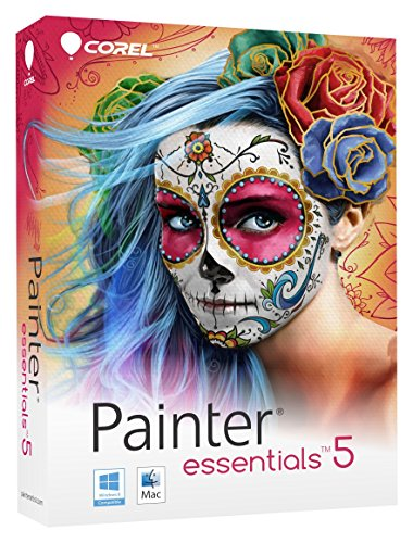 Corel Painter Essentials 5 Digital Art Suite for PC and Mac (Old - Graphics Software
