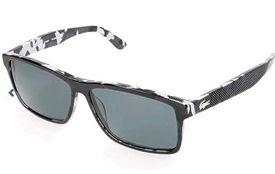 c2ea2687c1c Lacoste Men s L705sp Polarized Rectangular Sunglasses BLACK CAMOUFLAGE 57 mm