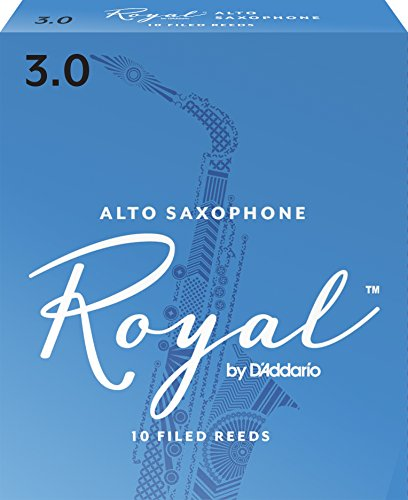 Royal Alto Sax Reeds, Strength 3.0, 10-pack
