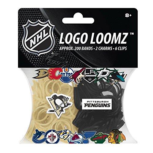 NHL Pittsburgh Penguins Logo Loomz Pack