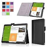Exact Samsung Galaxy Tab S 10.5 Case [PRO Series] - Professional Folio Case for Samsung Galaxy Tab S 10.5 (SM-T800 / SM-T805) Black