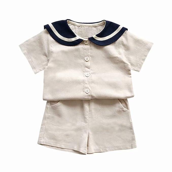 Amazon.com: Pobidoby - Conjunto de camiseta y pantalones ...