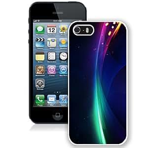 Beautiful Unique Designed Cover Case For iPhone 5S With Minimalism Black Phone Case