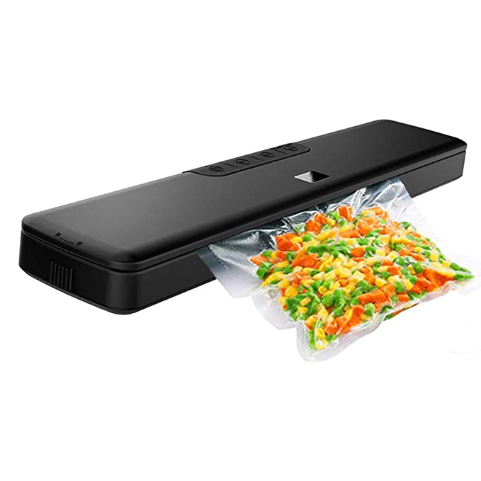 Vacuum Sealer Machine by HYASIA,Automatic Sealer with Starter Kit, Multi-use Vacuum Packing Machine for Food Preservation, Dry & Moist Food Mod,20 Vacuum Sealer Bags Included