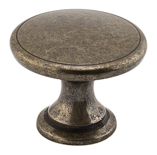 Richelieu Hardware - BP881BB - Transitional Metal Knob - 881 - Burnished Brass Finish