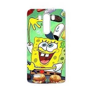 Lovely SpongeBob Cell Phone Case for LG G3
