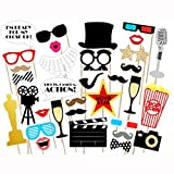 Best Props - Movie - Hollywood Party Photo Booth Props Kit Review
