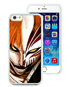 Beautiful Designed Case With Bleach Ichigo White For iPhone 6 4.7 Inch TPU Phone Case